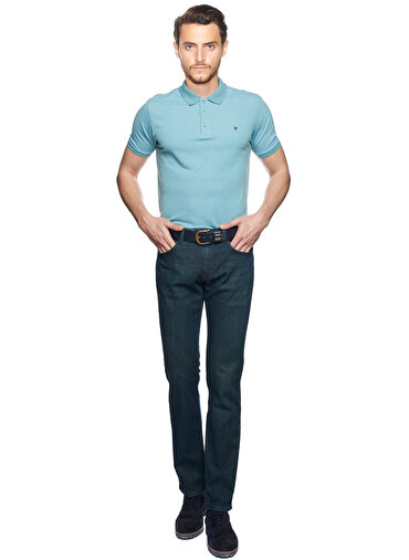 Erkek Slim Fit Denim Pantolon