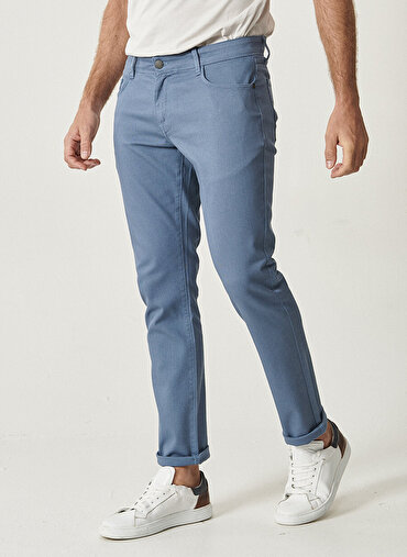 Erkek Slim Fit Casual Pantolon