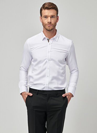 Erkek Tailored Slim Fit Gömlek