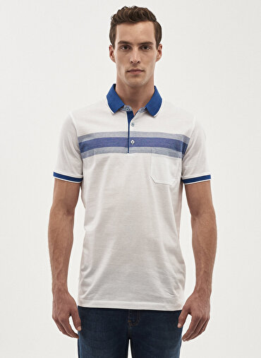 Erkek Regular Fit Polo Yaka Tişört